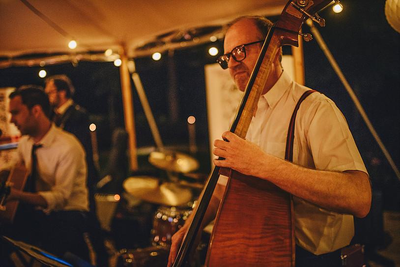 Live muziek voor uw receptie! Live band 'Hors Catégorie' verzorgt een mix van jazz en Franse chansons tijdens uw receptie!