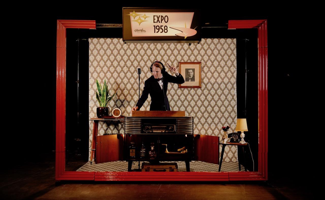 Vintage-DJ-Booth-Huwelijk