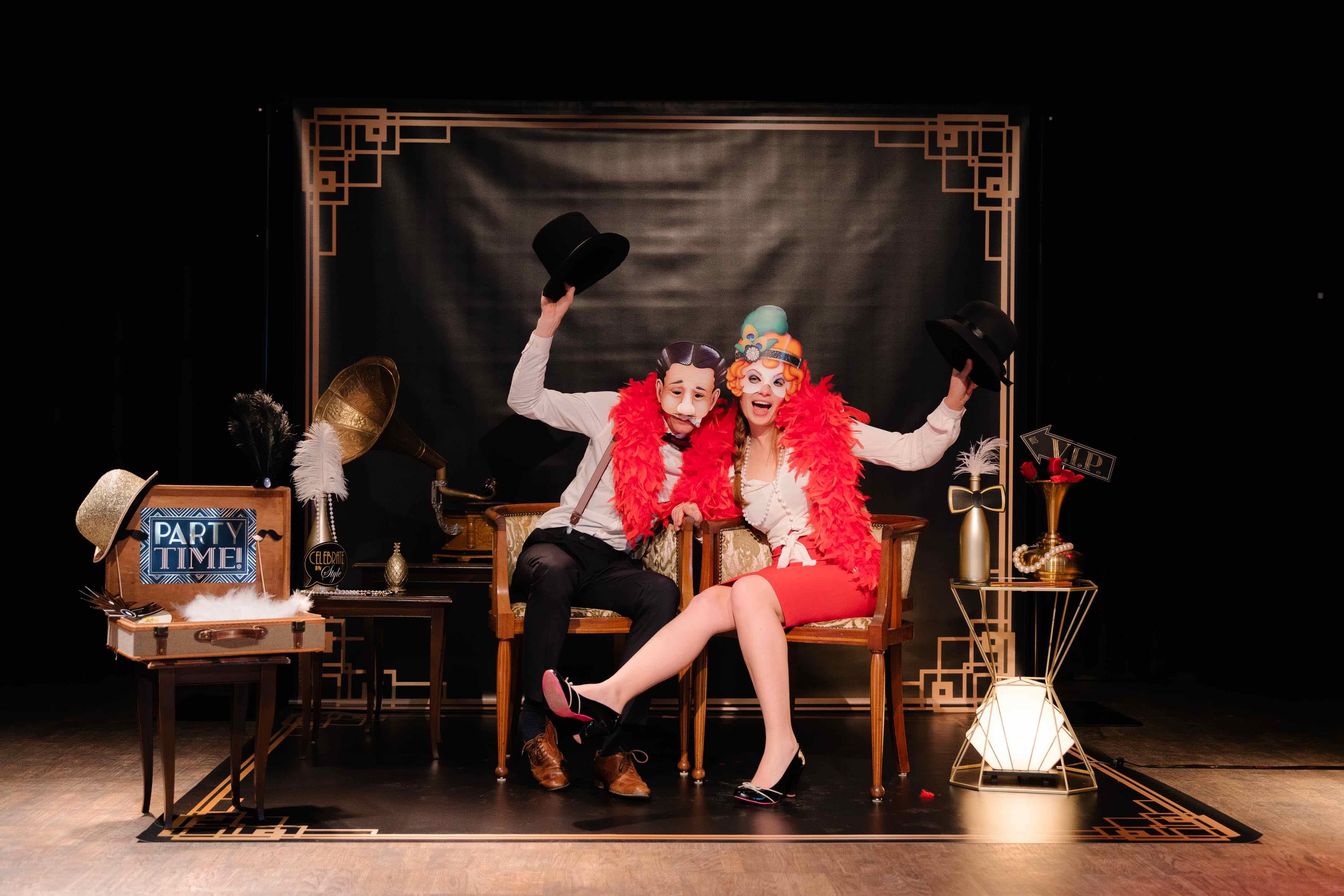 Great Gatsby photobooth huren voor jullie huwelijk?