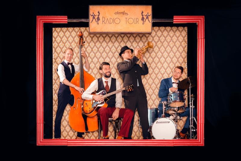 Boek nu een jazz-band voor uw huwelijk of receptie.