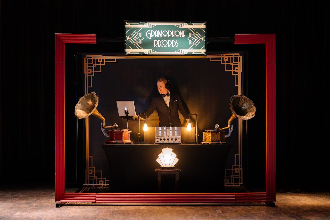 Great Gatsby retro DJ Boeken? Retro DJ voor uw event!
