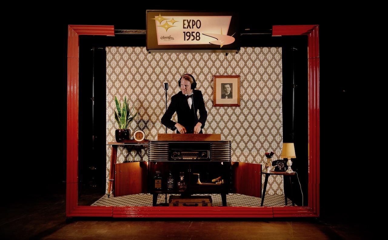 Vintage-DJ-Booth-Boeken